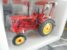 HANOMAG R35 FARM TRACTOR WITH ROOF 1955 Traktor red rot Minichamps SP ! 1:18