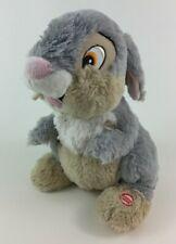 """Hallmark Thumpin Thumper Talking Bunny Rabbit 11"""" Plush Stuffed Toy Bambi Disney"""