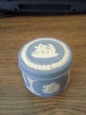 Vintage Wedgwood Jasperware Blue Pegasus Design England 1975
