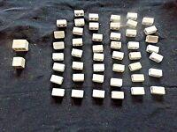 domino triple sucre en porcelaine jamais utilisé accessoire électrique vintage