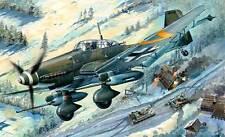 Trumpeter Junkers Ju-87G-2 Stuka Kanonenvogel Tankhunter 1:32 Modell-Bausatz kit