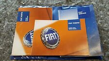 FIAT PUNTO Owners Handbook pack 1999 - 2003 Pre Facelift Genuine With Wallet