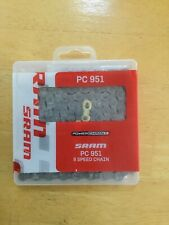 SRAM PC-951 BICYCLE BIKE CHAIN 9 Speed w/GOLD POWER LINK  New FREE SHIPPING