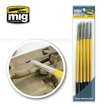 Ammo by Mig Rubber Brush Set A.MIG-7606