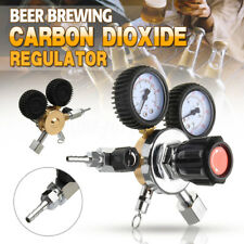 Dual Gauge CO2 Regulator Beer Carbon Dioxide Bar Soda Draft Beer Home Brew