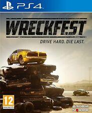 Wreckfest PS4 PlayStation 4 NEUWARE OVP