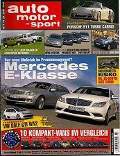 Auto Motor und Sport Heft 14/2007 -Chrysler Sebring Cabrio, Mercedes E-Klasse