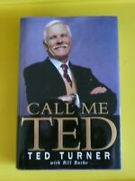 Call Me Ted by Ted Turner with Bill Burke (Hardcover) LB20