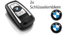 2x BMW Schlüssel Key Emblem Logo Aufkleber 11mm