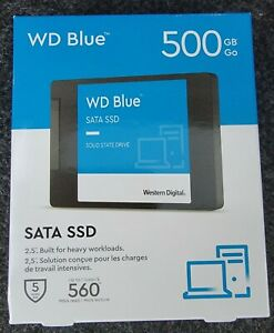 """🔥NEW WD Blue 500GB, Internal, 2.5"""" Solid State Drive (WDBNCE5000PNC-WRSN)🔥"""