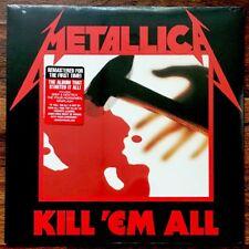 Metallica - Kill Em All LP [Vinyl New] 180gm Album + Download {Remastered}