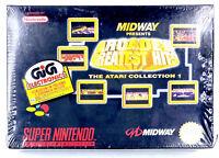Midway arcade greatest hits  Jeu Super Nintendo SNES Neuf scellé PAL EUR