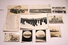 Job Lot of  Naval Pictures & Postcards (H.M.S NEWFOUNDLAND H.M.S TERROR OFFICE)