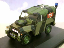 OXFORD 1/43 MILITARY LAND ROVER 1/2 TON LIGHTWEIGHT UK MILITARY POLICE 43LRL002