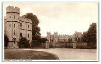 Picture Postcard Windsor Castle Royal Entrance Berkshire