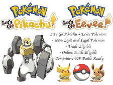 6IV Melmetal Pokemon Lets go Pikachu Lets go Eevee Guide Battle Ready Legit LGPE
