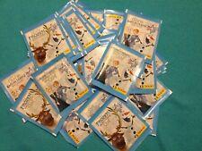 LOT de 10 pochettes packets = 50 stickers La reine des neiges avec OLAF - PANINI