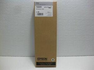 Genuine OEM Epson Gray Ink T8009 For SC-P20000 SC-P10000 Date: June 2020