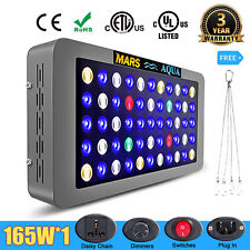 MarsAqua Dimmable 165W LED Aquarium Light Full Spectrum Reef Marine Coral Lamp