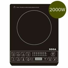 SOGA Electric Smart Induction Cooktop Portable Kitchen Cooker Cookware