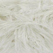 King Cole Moments DK Eyelash Fluffy Toy Knitting Wool Yarn 50g Cream 471