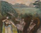 Aria After Ballet Edgar Degas Fine Art Print CANVAS Ballerina Print Painting SM
