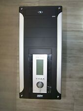 PC-Gehäuse Midi-Tower ATX 420W Front-LCD-Indicator schwarz silber