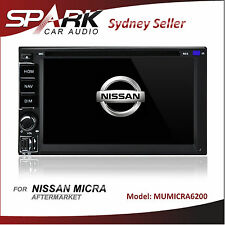 C-T AFTERMARKET GPS DVD FOR NISSAN MICRA NAVIGATION SYSTEM SAT NAV IPOD USB BT