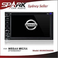 CT CARPLAYER / ANDROID AUTO GPS DVD SAT NAV IPOD BT FOR NISSAN MICRA 2011-2014