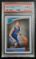 2018-19 Panini Donruss LUKA DONCIC Rated Rookie PSA 10 DALLAS MAVERICKS