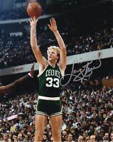 Larry Bird Signed 8X10 Photo Autograph Boston Celtics