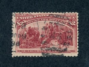 drbobstamps US Scott #242 Used Sound Stamp