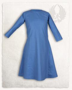 Lotte Kleid Hellblau Kinder 152 Larp Mittelalter Reenactment (E#00254)