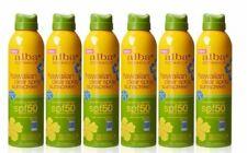 10 Bottles Hawaiian Clear Spray Coconut Spf 50 Sunscreen Alba Botanica, 7.5 oz