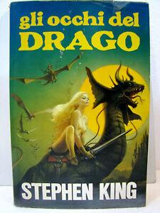 """Stephen King """"Gli occhi del Drago"""" 2a ristampa 1990 Euroclub"""