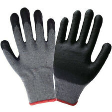 12 Pairs Coating Protective safety Gloves Anti abrasion and non slip Work Gloves