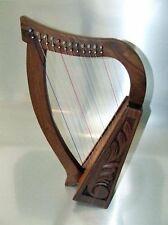 IRISCH KELTISCHE KINDER HARFE 12 SAITEN    HARPE ARPE HARP HARFE