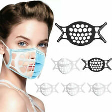 10 x 3D Face Mask Bracket Mouth Separate Inner Stand Soft Silicone Holder Frame