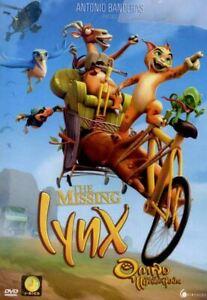 The Missing Lynx (2008) DVD R0 PAL Antonio Banderas, Family Animation Adventure