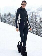 Bogner Mila-D Ski Suit Stretch Catsuit Women's 38 US 8 Medium - Black/White NEW