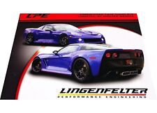 Lingenfelter Corvette Twin Turbo GTR 1-page Car Brochure Card 2011 2012 2010