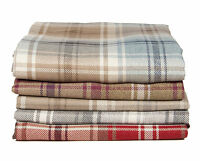 McAlister Textiles Angus | Large Wool Feel Tartan Throw Blanket for Bed, Sofa...