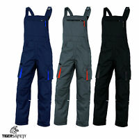 Delta Plus Panoply M2SA2 Mach 2 Mens Kneepad Bib & Brace Work Dungarees Overalls
