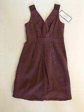 NWT J.CREW Petite Aveline dress in washed crepe P4