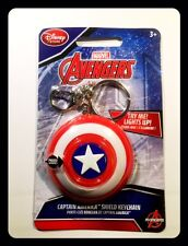 SCUDO Captain America Shield Light-Up Keyring PORTACHIAVI LUMINOSO AVENGERS 6 CM