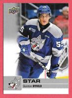 2019-20 Quinton Byfield Upper Deck CHL Star Rookie - Sudbury Wolves