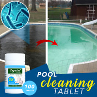 Pool Cleaning Tablet (100 tablets) - HIGH QUALITY FREE SHIPPING Super