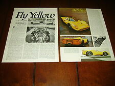 FERRARI P3 - STREET LEGAL   ***ORIGINAL 1970  ARTICLE***