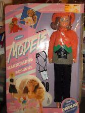 VTG Barbie WANNABE & Friends Mel Appel MODEL  Clothing Mannequin Display Fashion