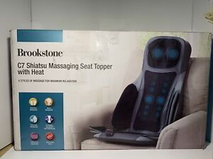 Brookstone C7 Shiatsu Massaging Seat Topper